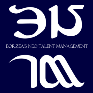 Logo for ENTM Eorzea's Neo Talent Management
